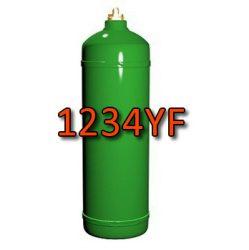1234YF hűtőközeg 0,9kg, újratölthető 1kg-os palackban