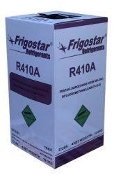 Hűtőközeg R-410A Frigostar 10 kg. - újratölthető palackban