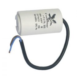 Kondenzator za rad elektromotora   2,5 µF sa kablom Coolstar