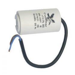 Kondenzátor üzemi  10 µF kábeles Coolstar