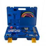 Set za frigomehaničare za freon VTB-5B-II (R22, R134a,R404A,R407C)