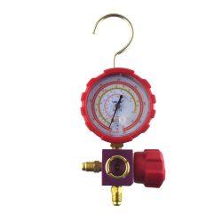 Csaptelep magas nyomású VALUE VMG-1-S-L R410A, R134a, R404A, R407C hűtőközegekhez