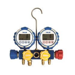 Digitalna manobaterija set za 9 vrsta rashladnih gasova  VALUE VDG-4-S1