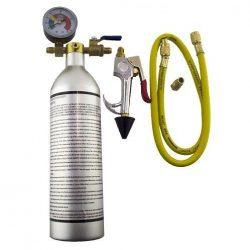 Tisztitó palack Univerzális + manométer 150 Psi