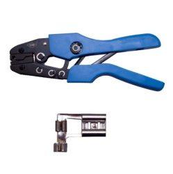 Kábelsaru fogó kompresszor, fűtőbetét saruhoz