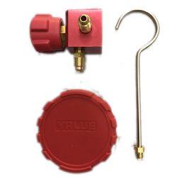 Slavina sa gumenom zaštitom za manobaterije VMG-1-U-H Value