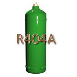 R404 hűtőközeg 1,7 kg, újratölthető 2kg-os palackban