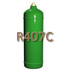 R407C hűtőközeg 2 kg, újratölthető 2kg-os palackban