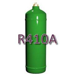 R410A hűtőközeg 1,9 kg, újratölthető 2 kg-os palackban