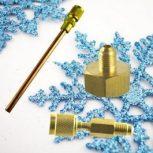 -Adapteri, igličasti ventili